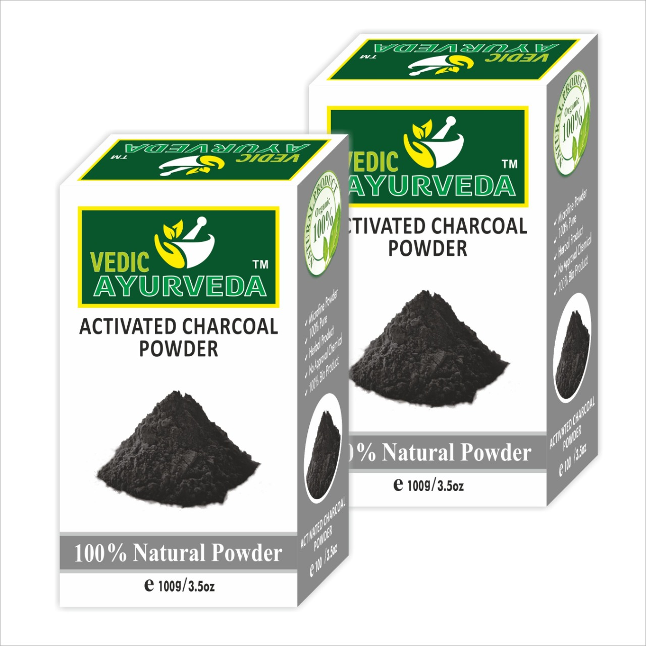Activated Charcoal Powder Combo