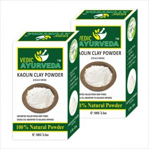Vedicayurveda Kaolin Clay Powder Combo
