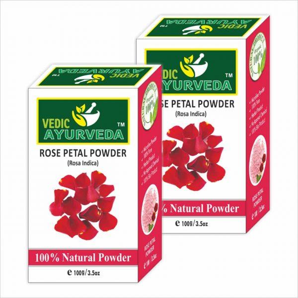 vedicayurvedas Rose petal powder
