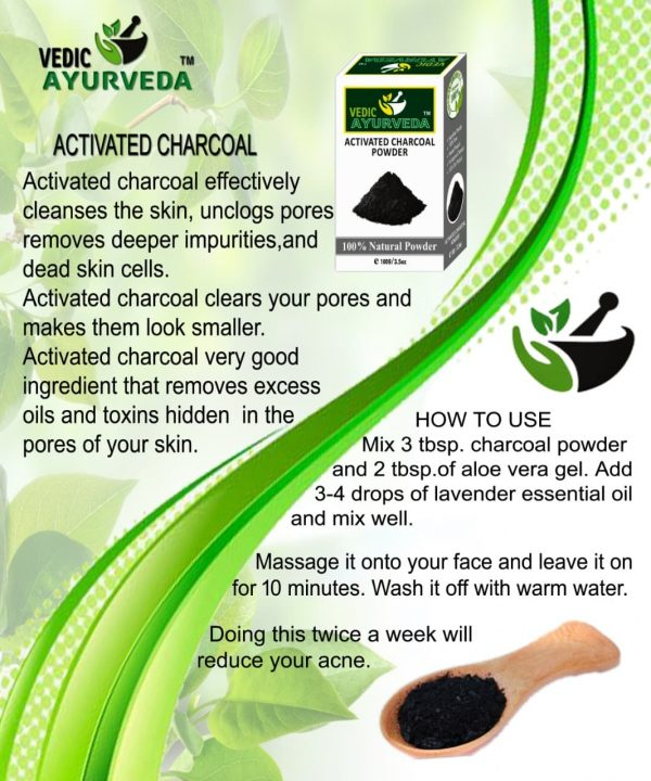 Uses of Activated Charcoal Powder