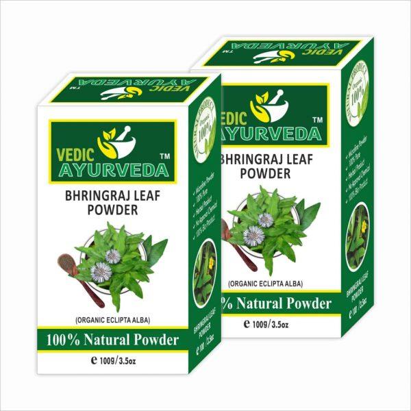 vedicayurvedas bhringraj leaf