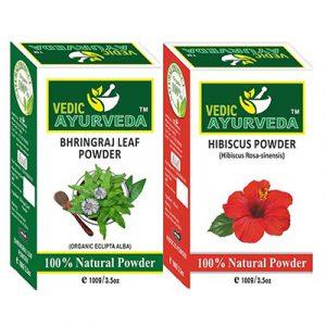 Bhringraj & Hibiscus Powder Combo