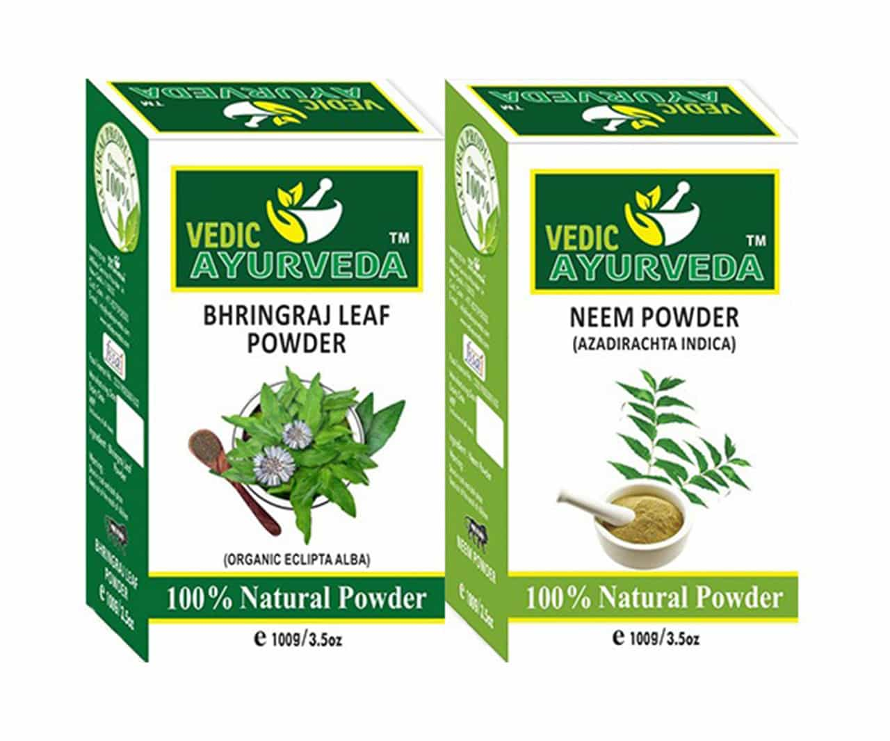 Bhringraj & Neem Leaf Powder Combo