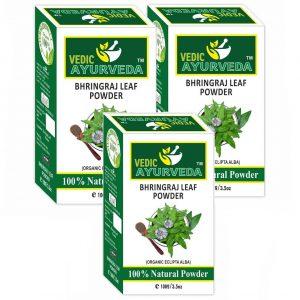 3 packs of Bhringraj Leaf Powder