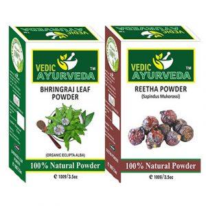 Bhringraj & Reetha Powder Combo