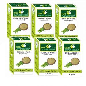 Natural heena leaf powder