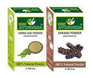 Henna Leaf and Shikakai Powder