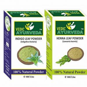 Indigo Leaf & Henna Leaf Combo