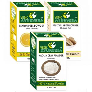 Lemon+Multani & Kaolin Clay Powder Combo