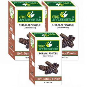 3 pack of shikakai owder