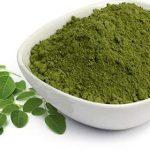 Natural leaf powder for hair
