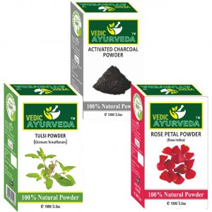 Tulsi rose Activated Charcoal