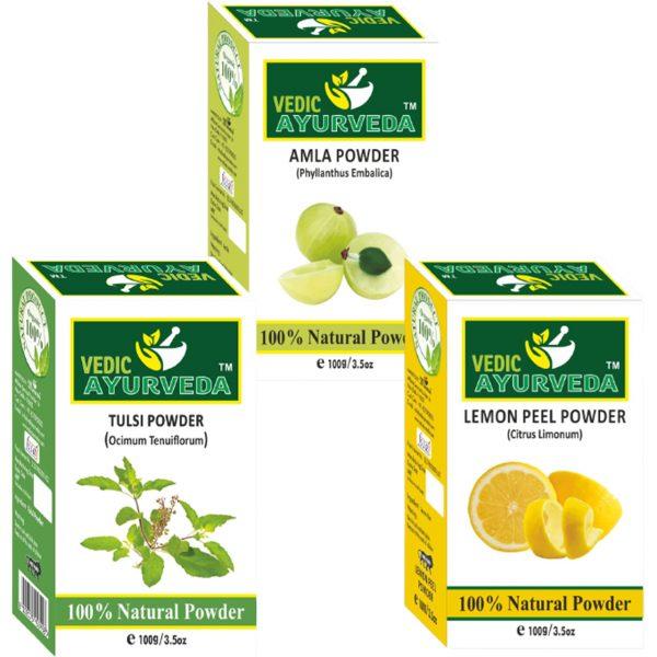 Tulsi Lemon Amla Combo