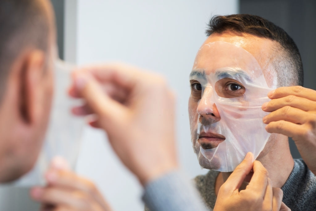 Bamboo Charcoal Facial sheet mask