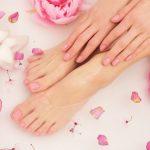 Coco Butter manicure and pedicure