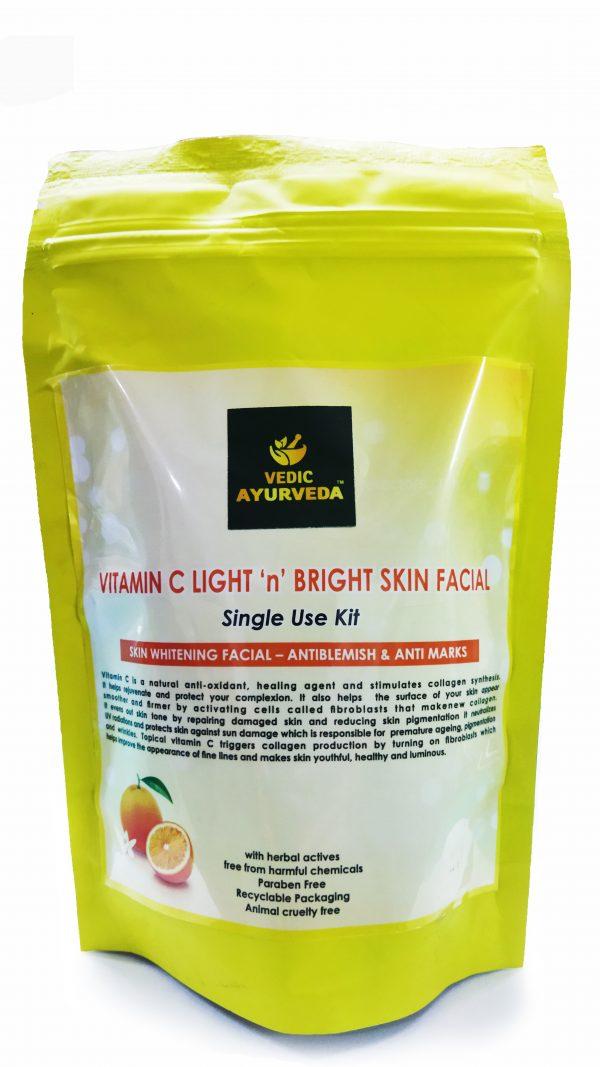 vitamin C facial kit